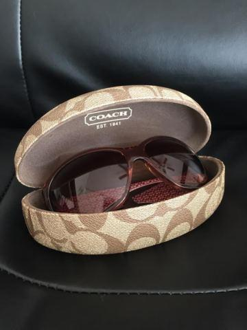 Coach Sunglass with Coach Glasses Case