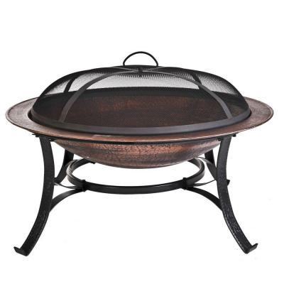 CobraCo Cast Iron Copper Fire Pit