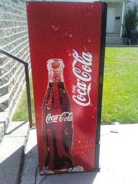 Coca-Cola Merchandiser Refrigerator