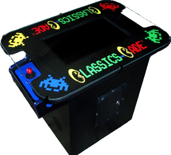 Cocktail Table Arcade Video Multi Classics Game Machine