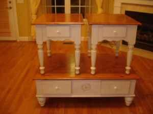 Coffee Table & 2 End Tables - $150 (Ringgold GA)