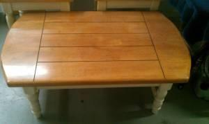 coffee table and 2 side tables - $150 (Fresno/ Selma)