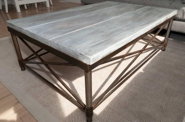 Coffee Table Restoration Hardware Look For Sale In Menlo Park