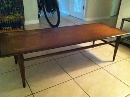 Coffee Table Vintage Retro Mid Century Danish Modern For