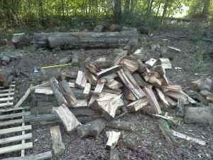 COLD? We have hardwood firewood ready for you - $65