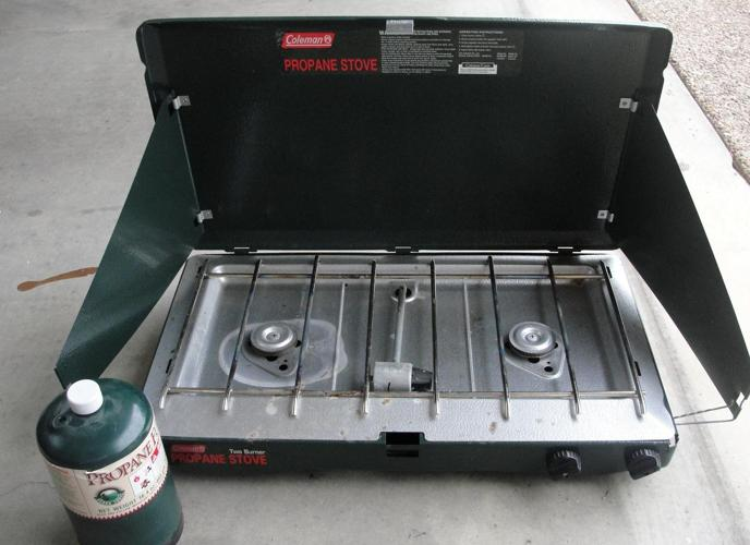how to clean a coleman 2 burner propane stove