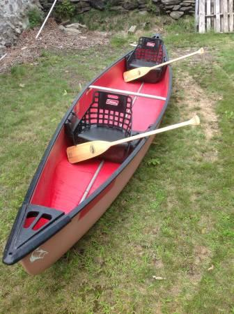 Coleman Canoe For Sale In Leicester Massachusetts