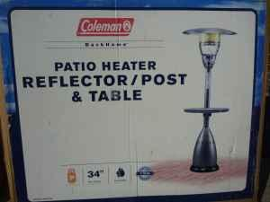 Coleman Patio Heaters With Light And Table 150