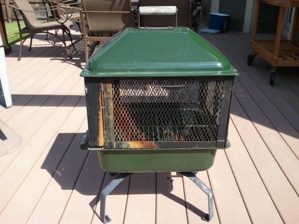 Coleman portable firepit - $45 - Coleman Portable Firepit - For Sale In Arvada, Colorado Classified