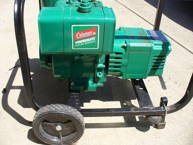 coleman powermate 4000 watt generator for sale in north bend oregon rh northbend or americanlisted com Coleman Powermate 5000 Service Manual coleman powermate 4000 watt generator parts