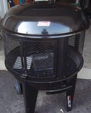 Coleman Round Fireplace Grill Bbq For Sale In Donegal