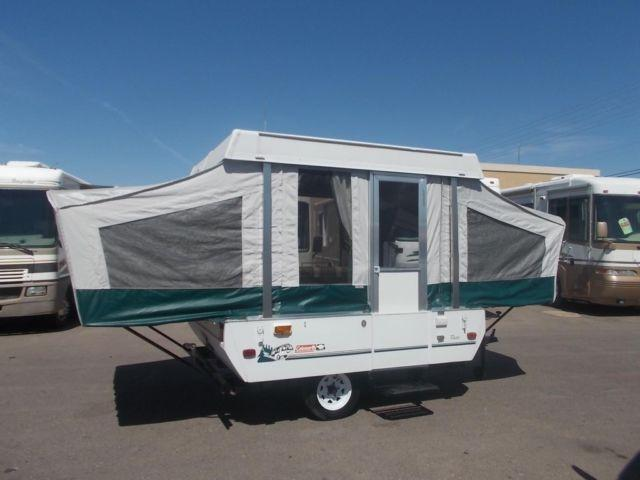 Coleman Taos 17 ft Pop Up Tent Camper for Sale in Apache ...