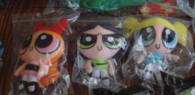 Collectable Power Puff Girls Plush and Muppet Baby/Sesame Street toys