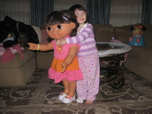 Collectible - Giant Dora the Explorer Doll