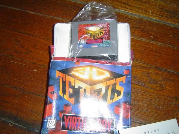 Collectible Japanese and USA V-Tetris for Nintendo