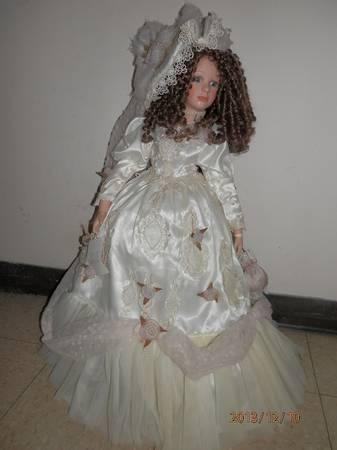 Collectible Memories lifesize porcelain doll - $20