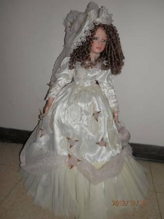 Collectible Memories Whitney lifesize porcelain doll - $20