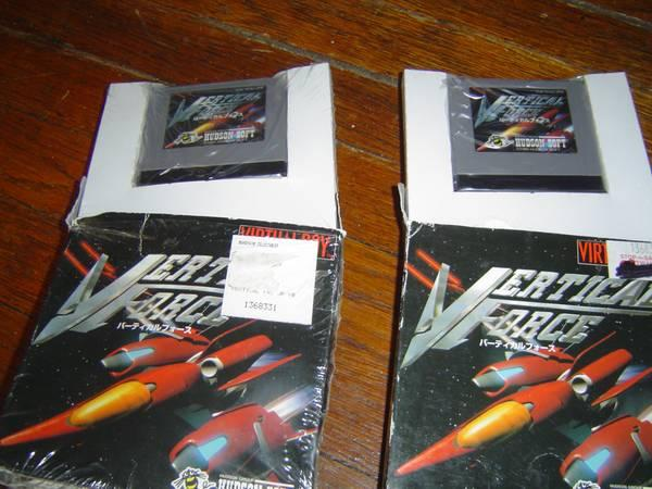 Collectible Vertical Force games for Nintendo Virtual
