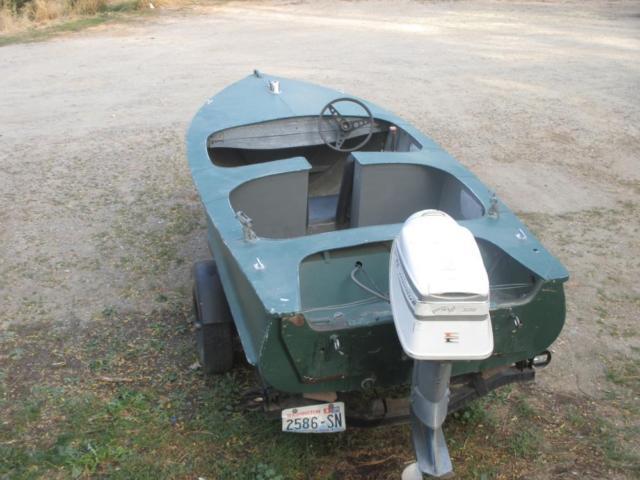 Collector's Vintage Crestliner Boat