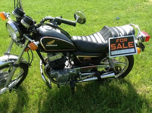 collectors 83 honda cm 250 belt drive for sale in otway. Black Bedroom Furniture Sets. Home Design Ideas
