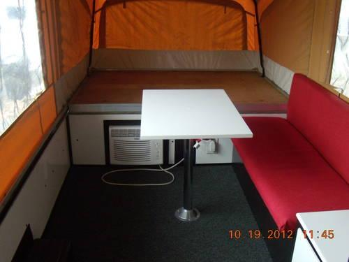 Colman Popup Camper Interior Completely Redone For Sale