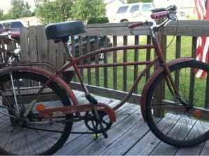 Columbia built fire-arrow bike - $175 (Williamsport PA