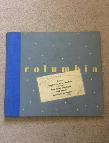 Columbia Records set