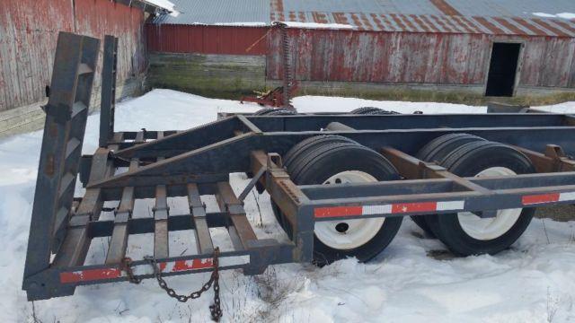 Custom Built Travel Trailers >> Combine trailer, special custom built, pintle hook for Sale in Sheffield, Iowa Classified ...