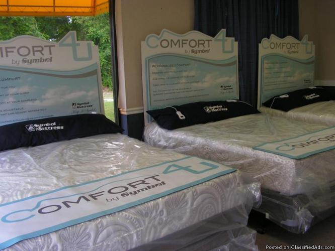 Comfort 4 U Adjustable Air Queen Bed Set Compare To Sleep Number