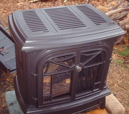 Comfort Glow Cast Iron Stove W Vent Free Gas Log Burner