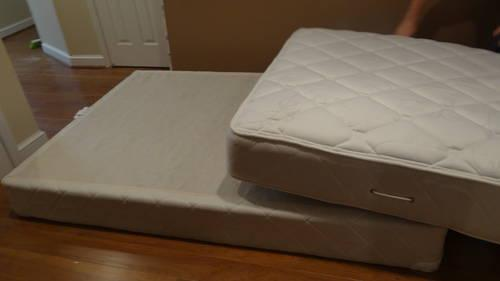 fort Source Full Size Plush Mattress and Box Spring Set