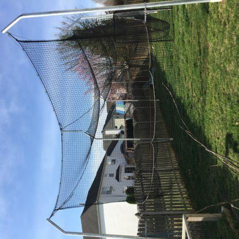 Commercial Baseball Batting Cage