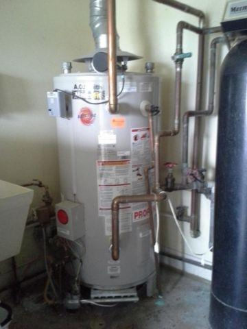 Commercial Hot water heaters(2), Softener systems(2), Copper Pipe ...