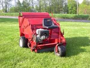 Commercial Lawn Sweeper Will Pick Anything In Yard For