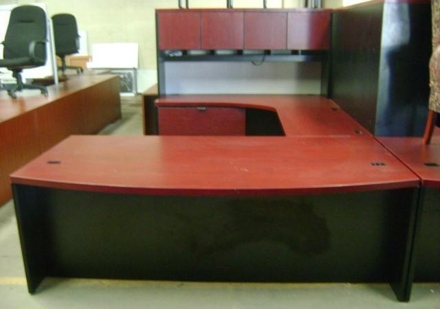 Commercial Office Furniture Desk Credenza