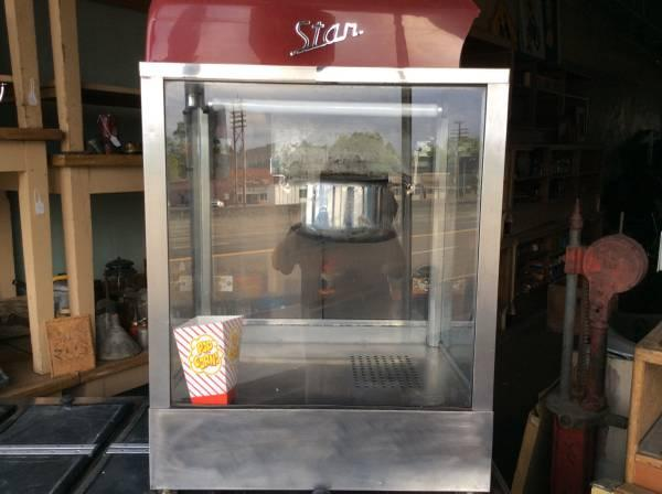 Commercial Popcorn popper - $150