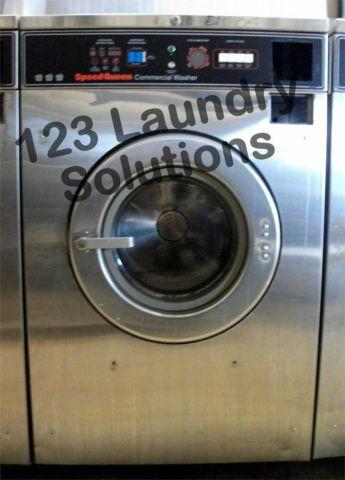 Commercial Speed Queen Front Load Washer 208-240v Stainless Steel SC27