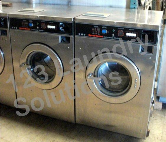 Commercial Speed Queen Front Load Washer 208-240v Stainless Steel SC30