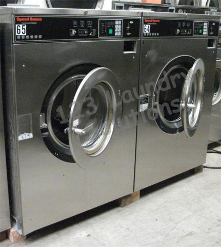 Commercial Speed Queen Frontload Washer 1 or 3 Phase 200-240v Steel SC