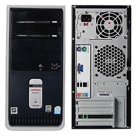 Compaq Presario SR1603WM Series Tower PC With Windows 7