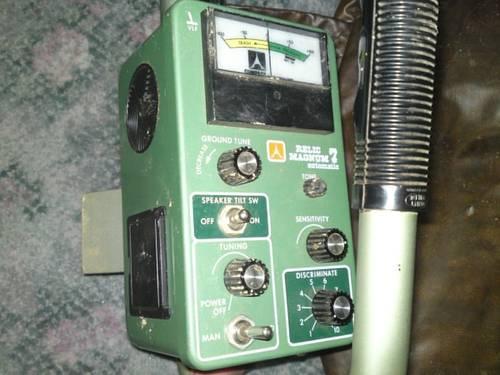 Compass Metal Detector, Relic Magnum 7