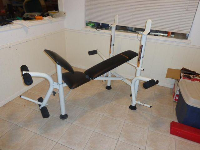 Competitor Multi Function Weight Bench Bench Press Curls Wm 354 For Sale In Houston Texas