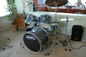 Complete Drum Set w/Cymbals Ready to Rock - (Simi Valley ...