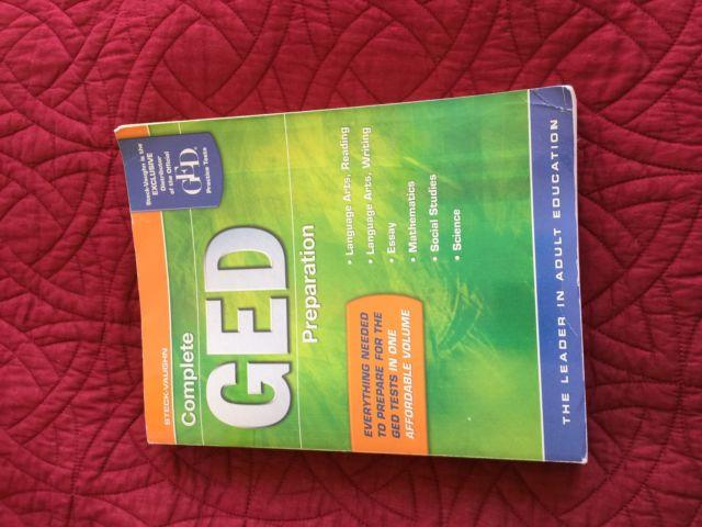 Complete GED Test Preparation Book