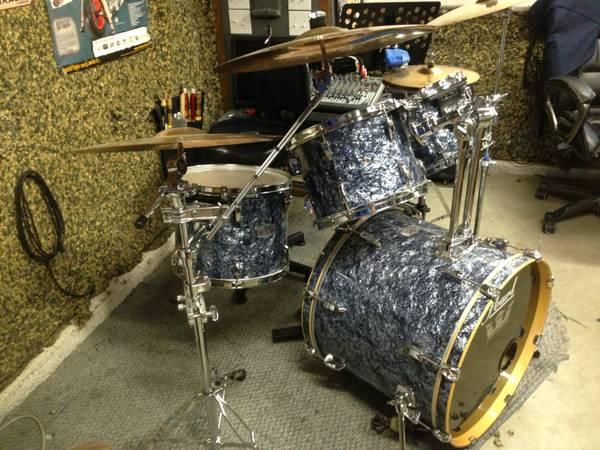 complete pearl exr export series excellent condition w extras for sale in manteca california. Black Bedroom Furniture Sets. Home Design Ideas