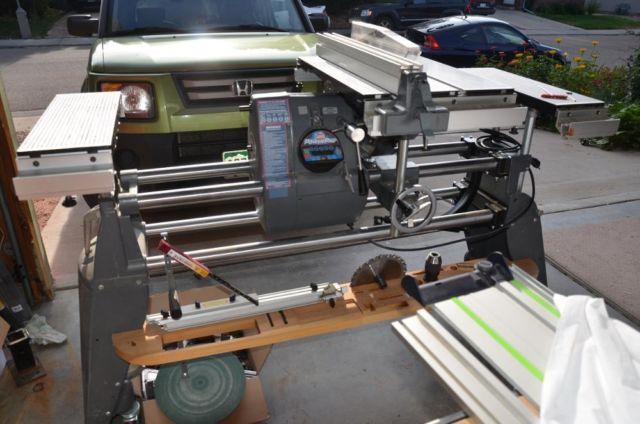 Complete Shopsmith Set Up With Dvr Motor Model 7 For Sale