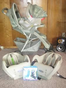 Complete Travel Stroller System - $140 (Owensboro)