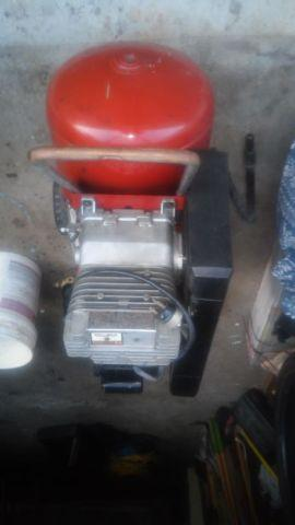 Compressor and Industrial Electrical Paint Sprayer