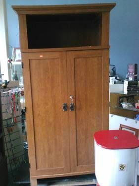 Computer Armoire - $75