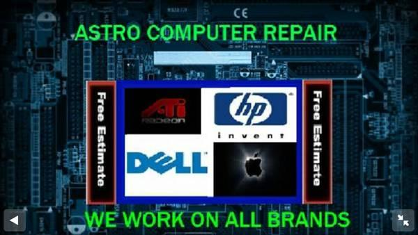 COMPUTER REPAIR SHOP FREE ESTIMATE